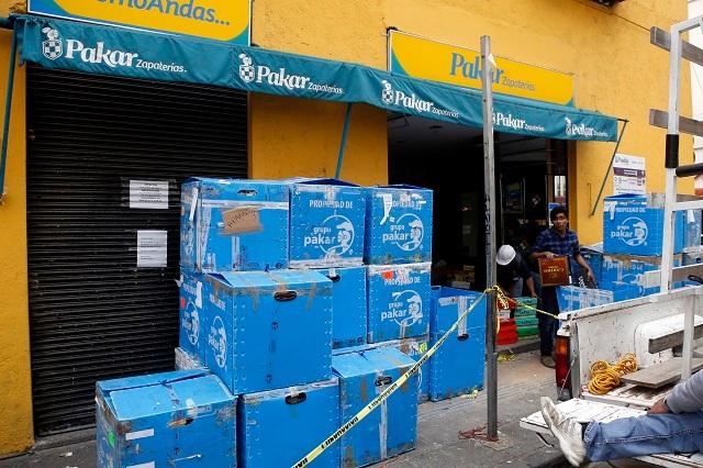 Contabilizan 340 negocios poblanos dañados por el sismo