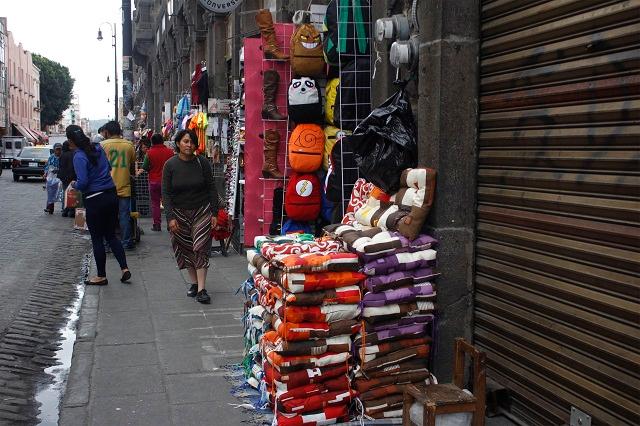 Cerraron 75 negocios del Centro Histórico por bajas ventas: Ayala
