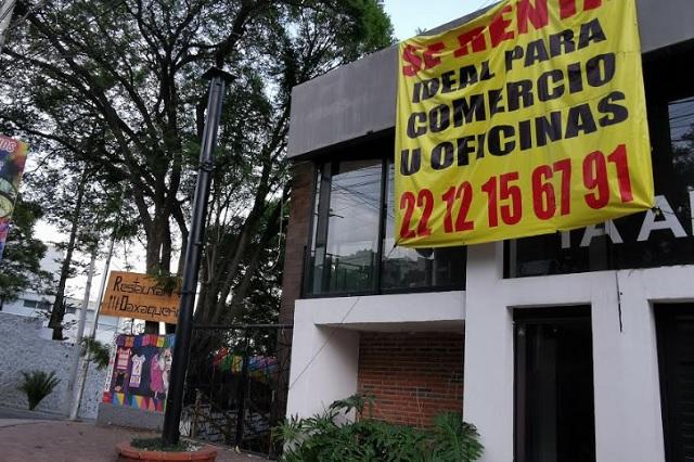 El Covid-19 también mata a bares y restaurantes en Puebla