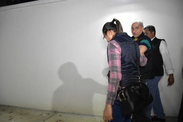 Me van a matar, dice excolaborador de Duarte tras caer en Puebla