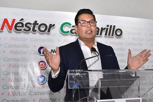 Néstor Camarillo, dirigente provisional del PRI en Puebla