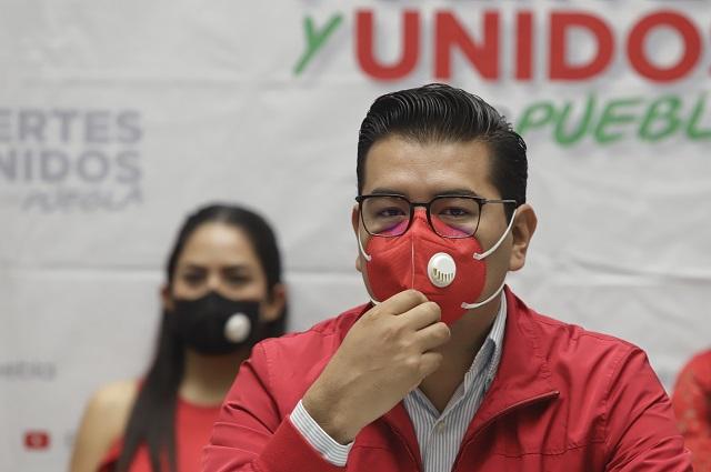 PRI Puebla se deslinda de Marín; pide juicio sin sesgo