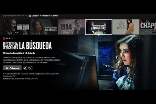 Netflix traerá 'Historia de un Crimen: La Búsqueda', el caso de la niña Paulette