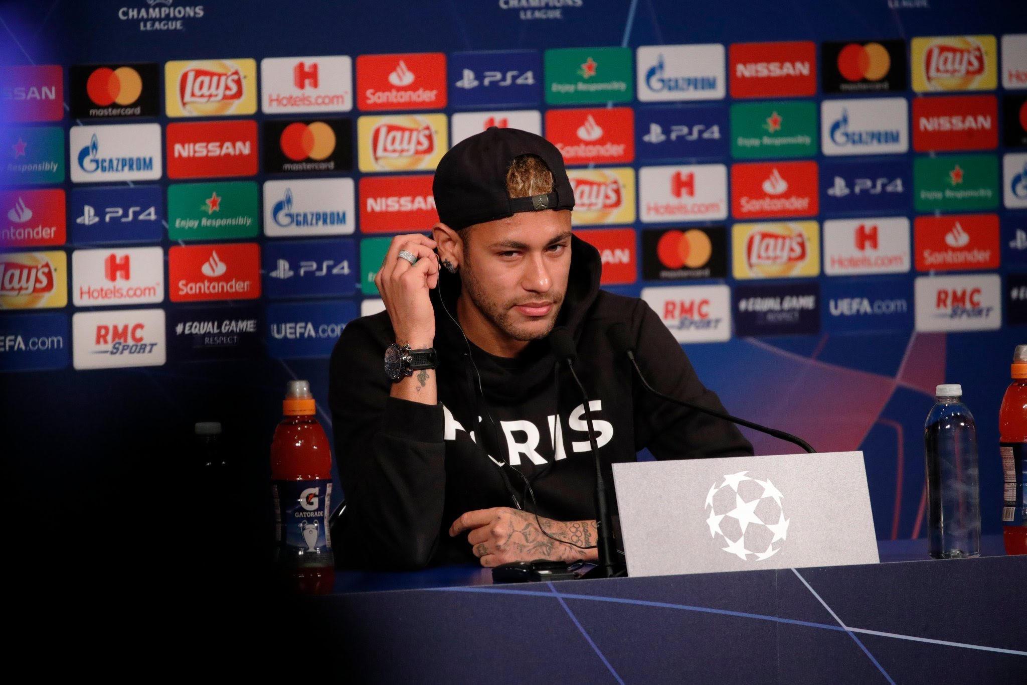 Neymar sigue frustrado por el Mundial de Rusia
