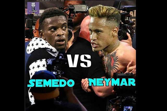 Pelea de Neymar y Nelson Semedo en el Barcelona ya tiene memes