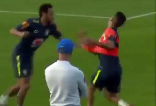 Juvenil humilla con túnel a Neymar y el crack reaccionó mal