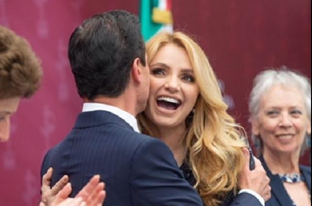 Angélica Rivera y Eduardo Yáñez sostendrían tórrido romance