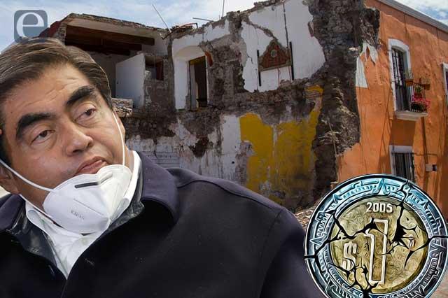 Sismo 19S en Puebla: 4 años de escuelas y monumentos olvidados