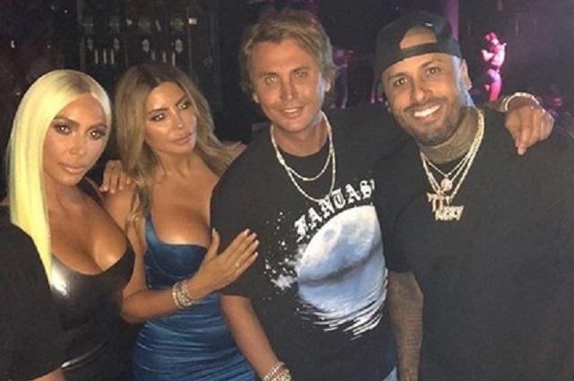 Nicky Jam presume su encuentro con Kim Kardashian