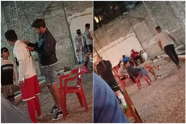 De la Liga MX al barrio: captan a Nicolás Larcamón en cancha amateur de Puebla