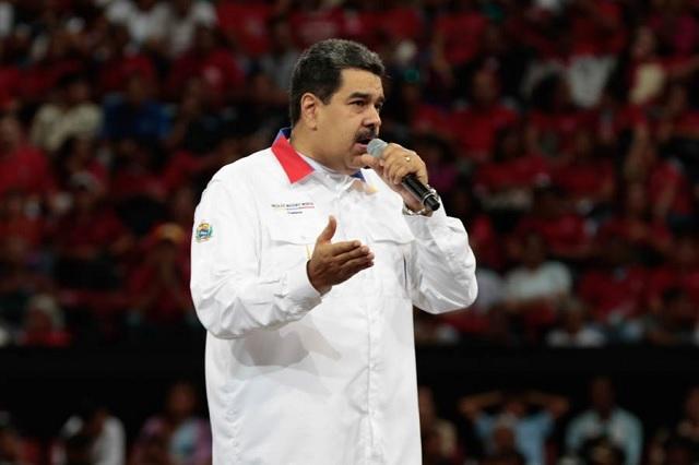 Sí, Maduro envía pésame por muerte de Martha Erika y RMV