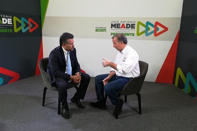 Niega Meade tener algún tipo de pacto con Moreno Valle