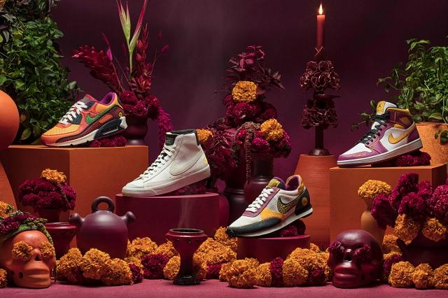 Nike lanza increíble colección inspirada en el Día de Muertos