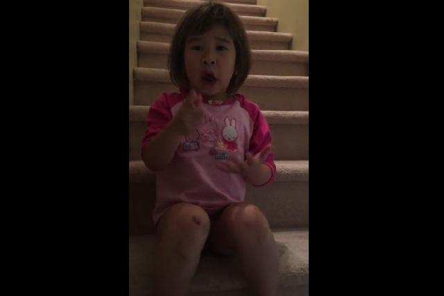 Niña de 6 años pide a sus padres separados que no sean malvados