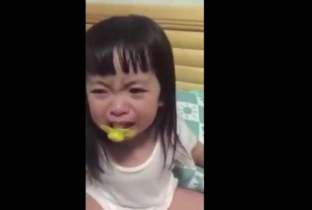 10 segundos de drama en video y en redes piden darle Oscar a una niña