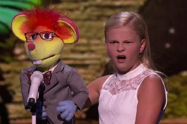 Darci Lynne, la niña que cautiva a los jueces de America's Got Talent