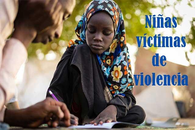 Niñas, víctimas de muchas formas de violencia