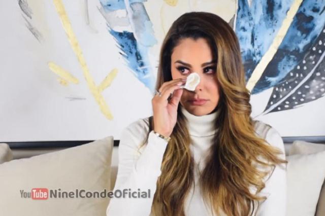 VIDEO Ninel Conde llora al hablar de problemas con su ex Giovanni Medina