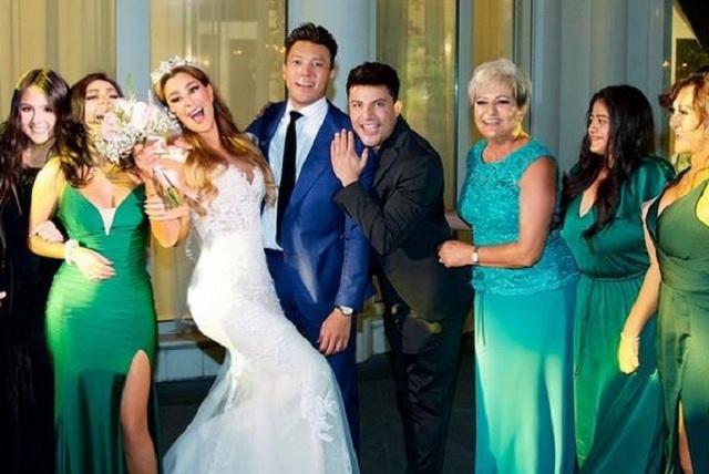 Boda de Ninel Conde y Larry Ramos será transmitida por Telemundo