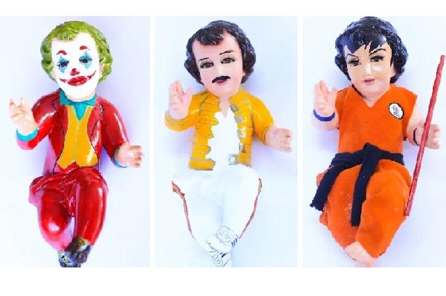 Polémica: Visten al niño Dios como Joker, Baby Yoda y Goku
