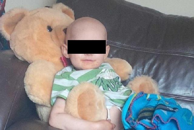 La última foto de un niño antes de morir que destroza el corazón