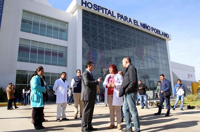 Apoyan SSEP y SEP a niños hospitalizados en Puebla