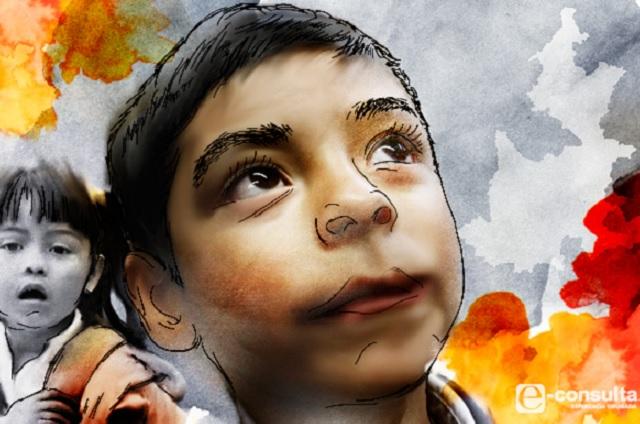 Ser niño o adolescente en Puebla, alto riesgo, señala la REDIM