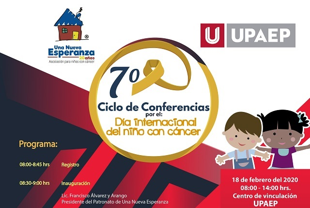 Invitan a conferencias por el Día Internacional del Niño con Cáncer