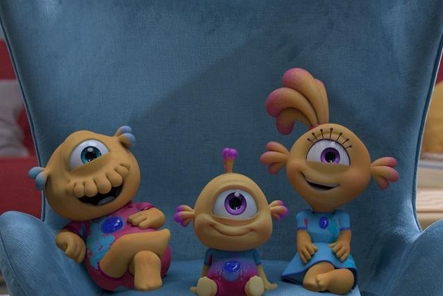 Llegan nuevos episodios de Nivis, amigos de otro mundo a Disney