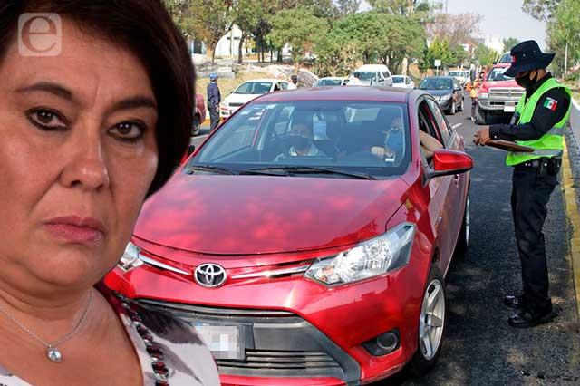 Congelan tarifas de multas, grúas y corralones en Puebla capital