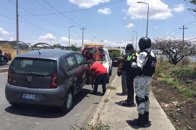 """Inicia """"Hoy no circula"""" en Izúcar en conjunto con la Guardia Nacional"""