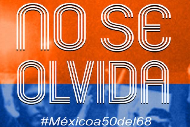 """Próximo 2 de octubre estrenarán obra """"NO SE OLVIDA #MEX a 50 del 68"""""""