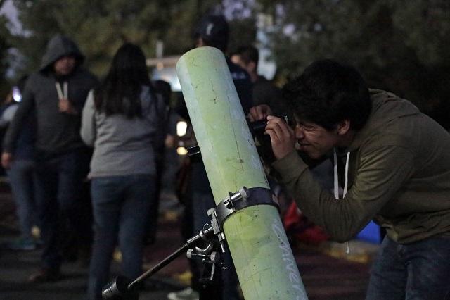 Acapara Puebla observación de estrellas en el país
