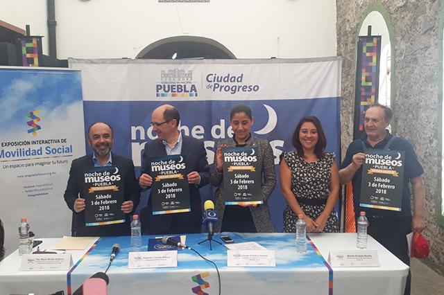 Noche de Museos 2018 inicia este fin de semana en Puebla