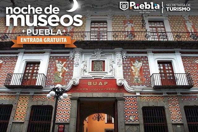 Hoy es la última Noche de Museos del 2018 en Puebla