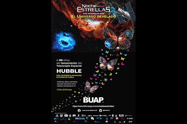 Invita BUAP a participar en la Noche de las Estrellas 2020