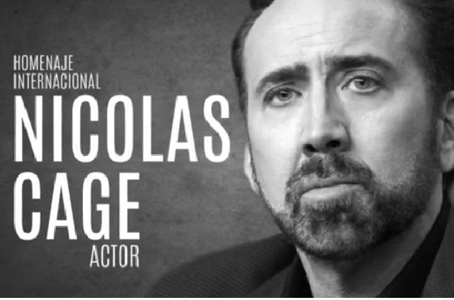 Actor Nicolas Cage tendrá homenaje en México por GIFF