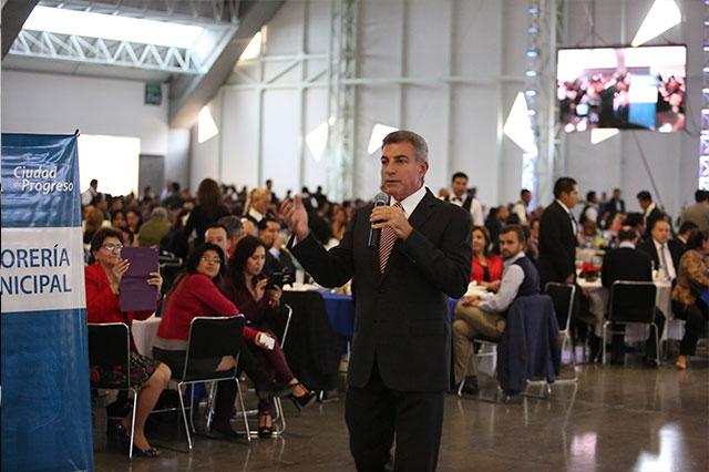 Descarta Gali despidos en el Ayuntamiento de Puebla para 2016