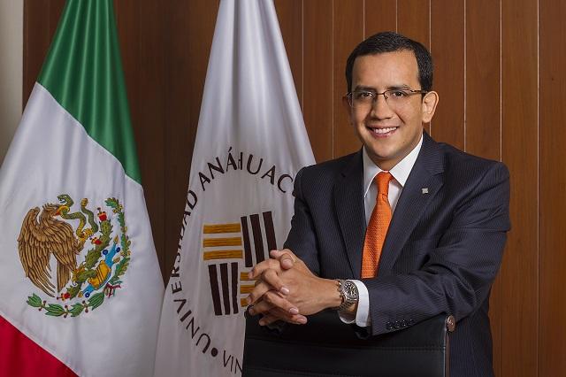 José Mata es nombrado Rector de la Anáhuac Puebla por 3 años más