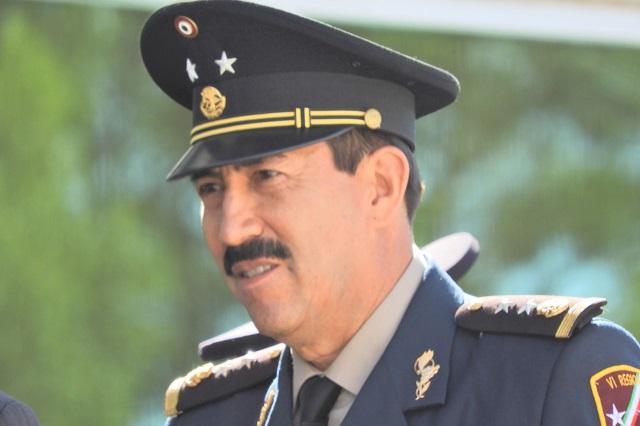 Nombran a Alfredo González nuevo comandante de la XXV zona militar
