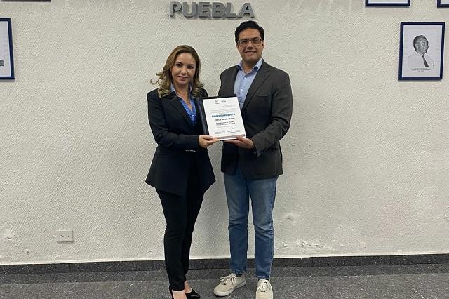 Nombran a Paola Angón coordinadora de alcaldes del PAN