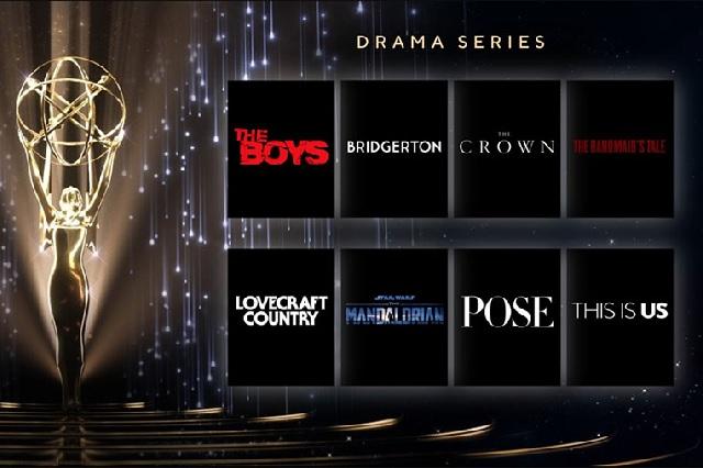 Esta es la lista de los nominados a los premios Emmy