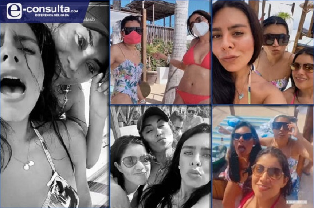 Diputada de Puebla arma fiesta y viaje a Acapulco en pandemia