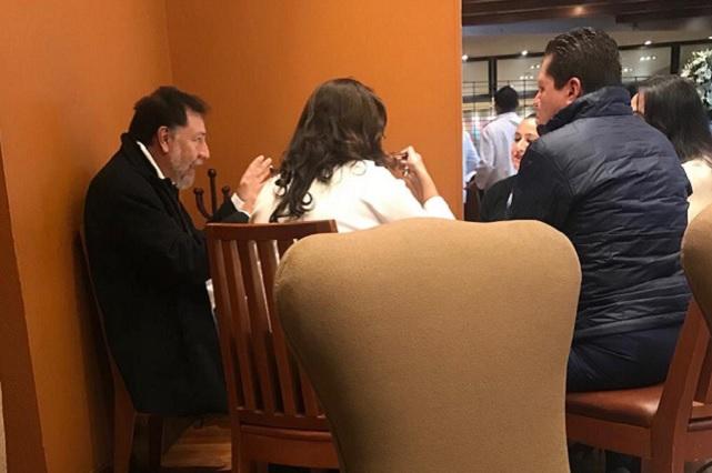 Noroña paga desayunos de 500 pesos; no soy austero, revira