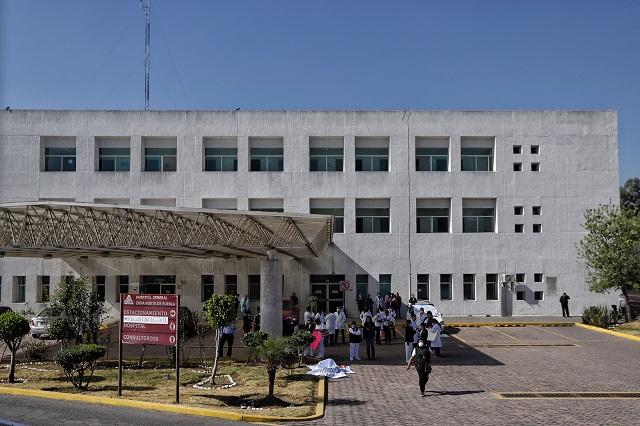 Minimiza Barbosa amparos a médicos del Hospital del Norte