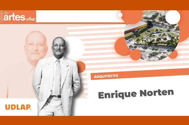 Arquitecto Enrique Norten se presenta en la Cátedra de Artes UDLAP