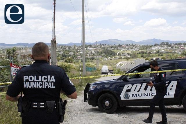 Asesinan a joven en colonia El Cerrito, en Huauchinango