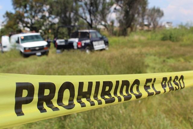 Hallan 3 días después a hombre baleado y degollado en Huaquechula