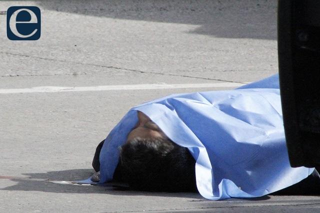 Hallan el cadáver de un hombre junto a la carretera Amozoc-Nautla