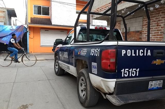 Renuncian todos los policías en Huixcolotla y SSP toma el control